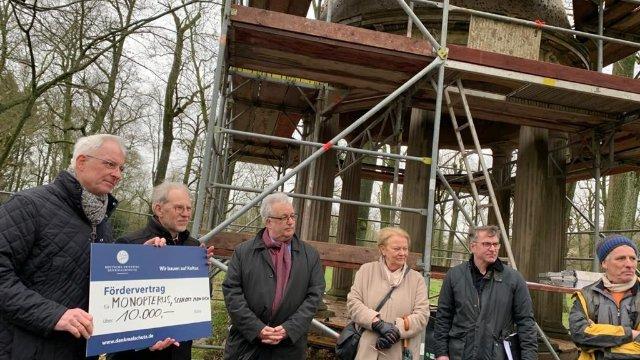Der Monopteros im Schlosspark Monaise wird saniert!-Image