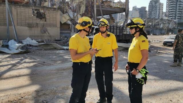 Feuerwehrmann aus Trier hilft in Beirut-Image