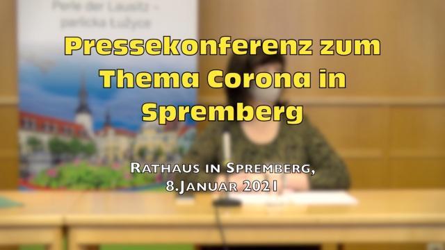 Pressekonferenz Corona vom 8.Januar 2021