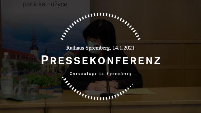 Pressekonferenz Corona 14.1.2021
