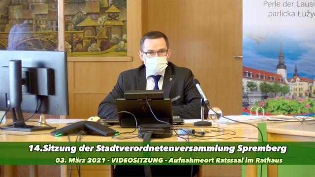 14.Sitzung der Stadtverordneten Spremberg