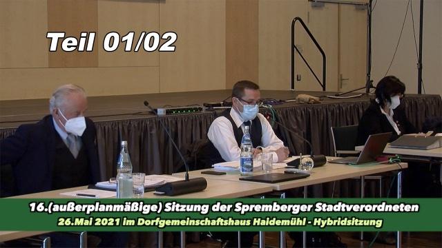16.Sitzung der Stadtverordneten Teil 01/02
