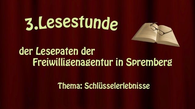 3.Lesestunde