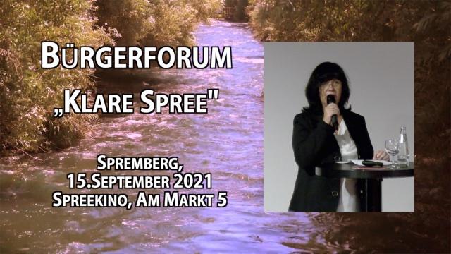 """Bürgerforum """"Klare Spree"""""""
