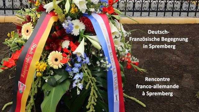 Deutsch-französische Begegnung in Spremberg