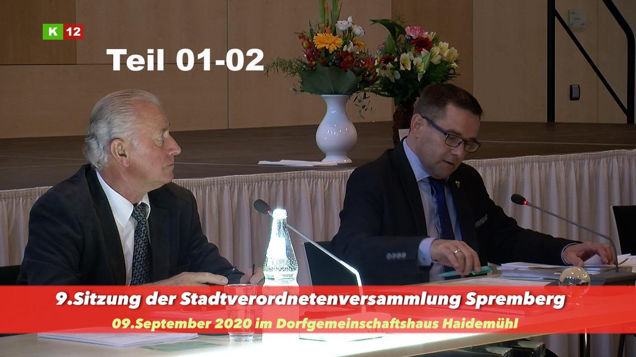9.Sitzung der Stadtverordneten Spremberg 1-2