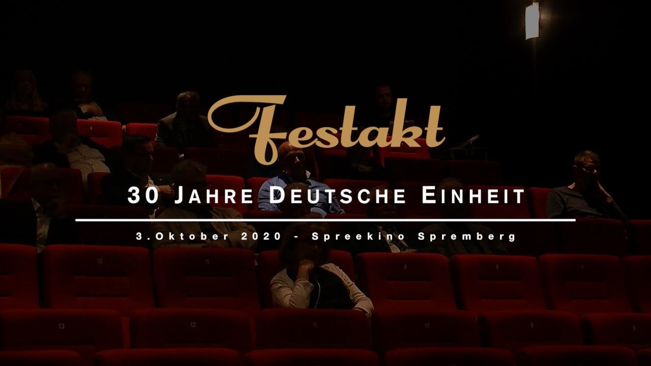 Festakt - 30 Jahre Deutsche Einheit in Spremberg