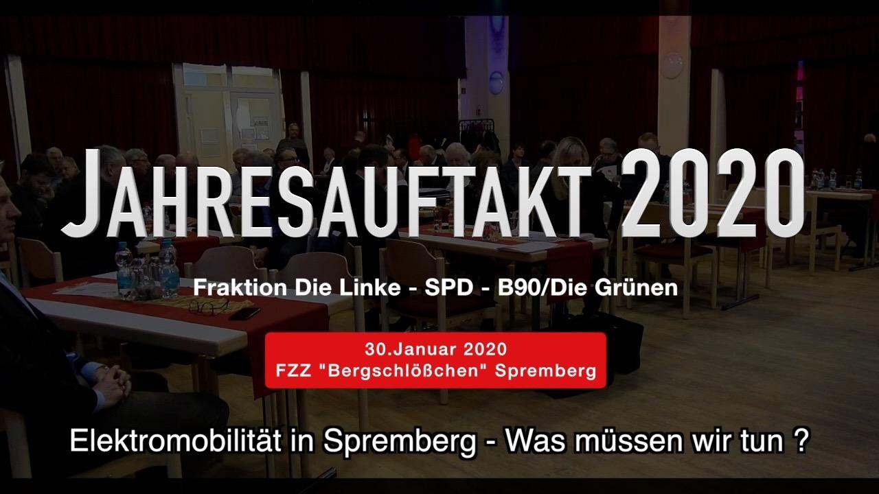 Jahresauftakt der Fraktion Die Linke-B90/Grüne-SPD