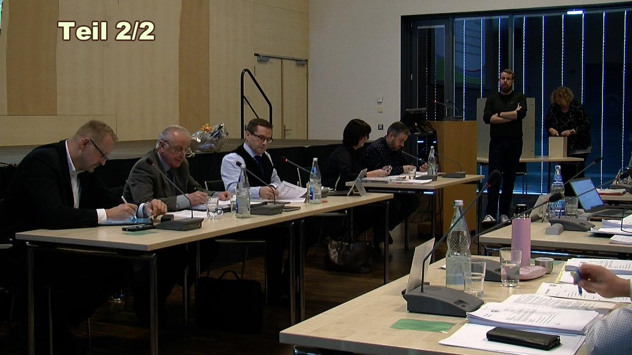 6. Sitzung der Stadtverordnetenversammlung Spremberg Teil 2/2