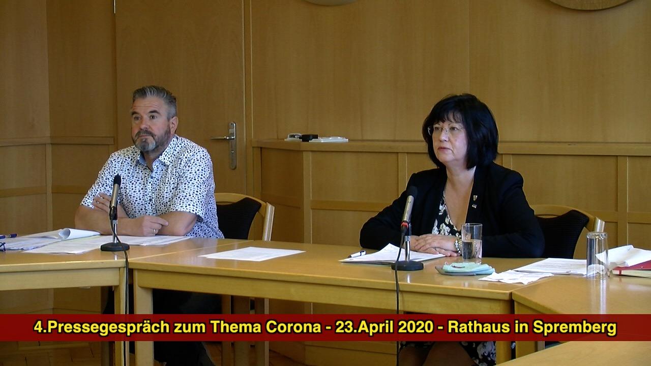 4.Pressegespräch zum Thema Corona in Spremberg