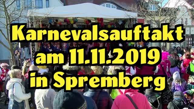 Karnevalsauftakt am 11.11.2019 um 11.11 Uhr