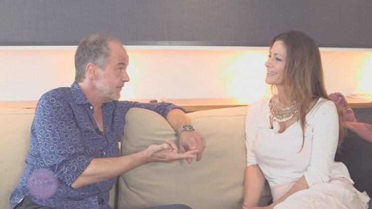 mit Schauspieler Marek Erhardt