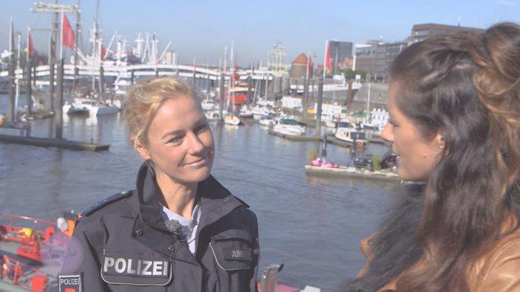 mit Schauspielerin Rhea Harder-Vennewald