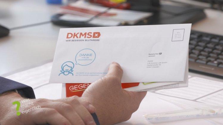 die Deutsche Knochenspenderdatei DKMS?