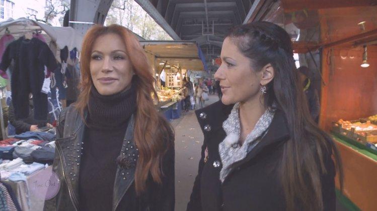 mit Model und Schauspielerin Yasmina Filali