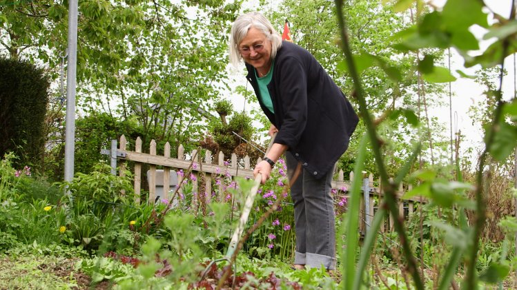 Marianne Frielingsdorf (64) bewahrt die heimische Natur