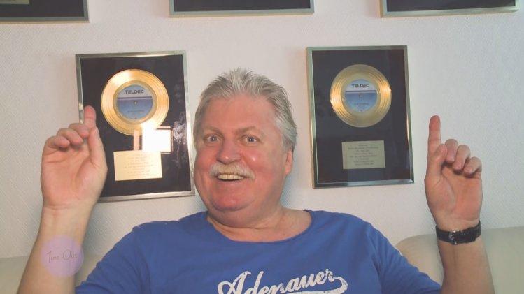 mit Sänger Klaus Baumgart