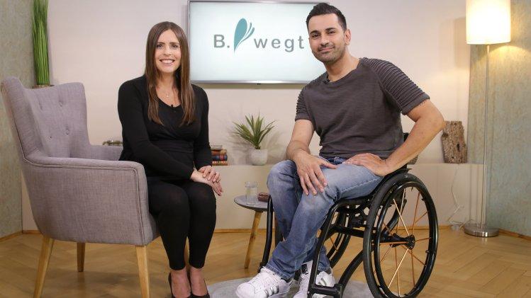 Mit Rollstuhl und Humor für mehr Inklusion