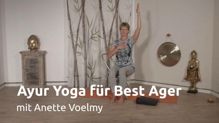 Ayur Yoga für Best Ager
