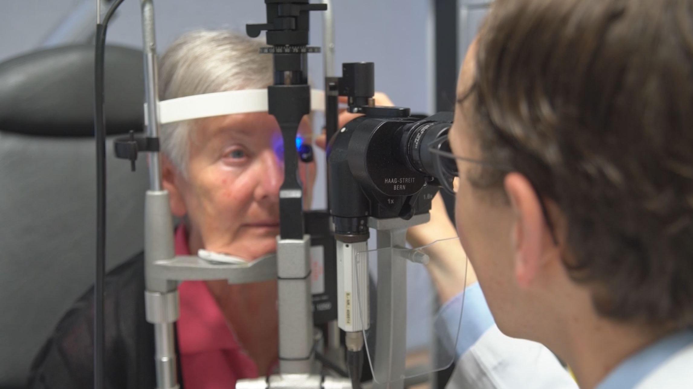 Augenklinik: Alles sauber - alles klar