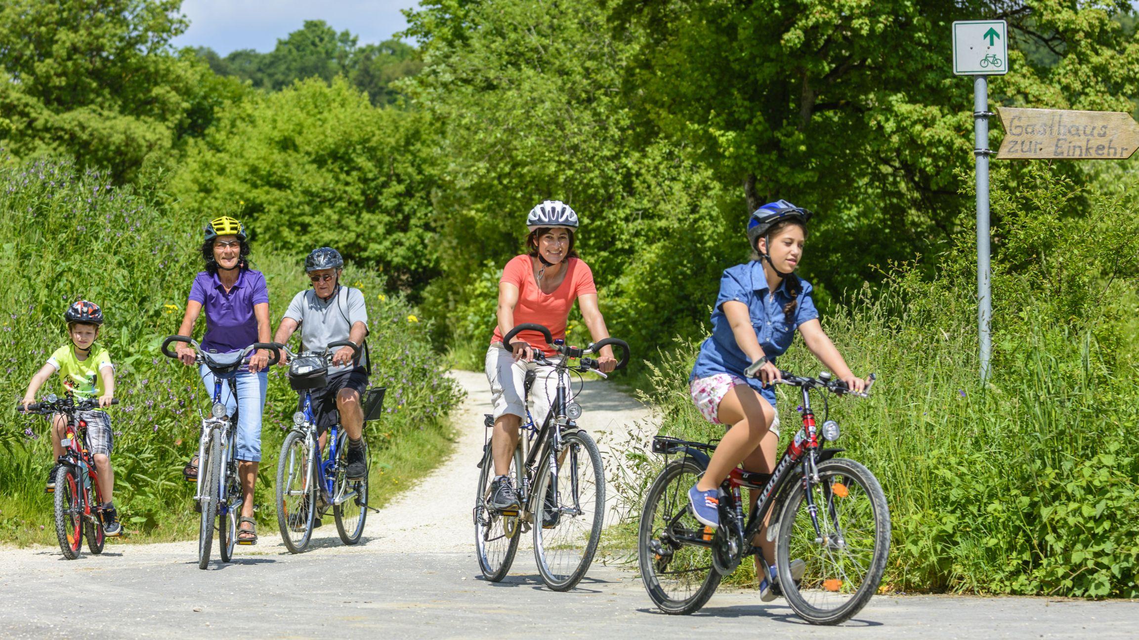 Mit Radfahren fit und gesund