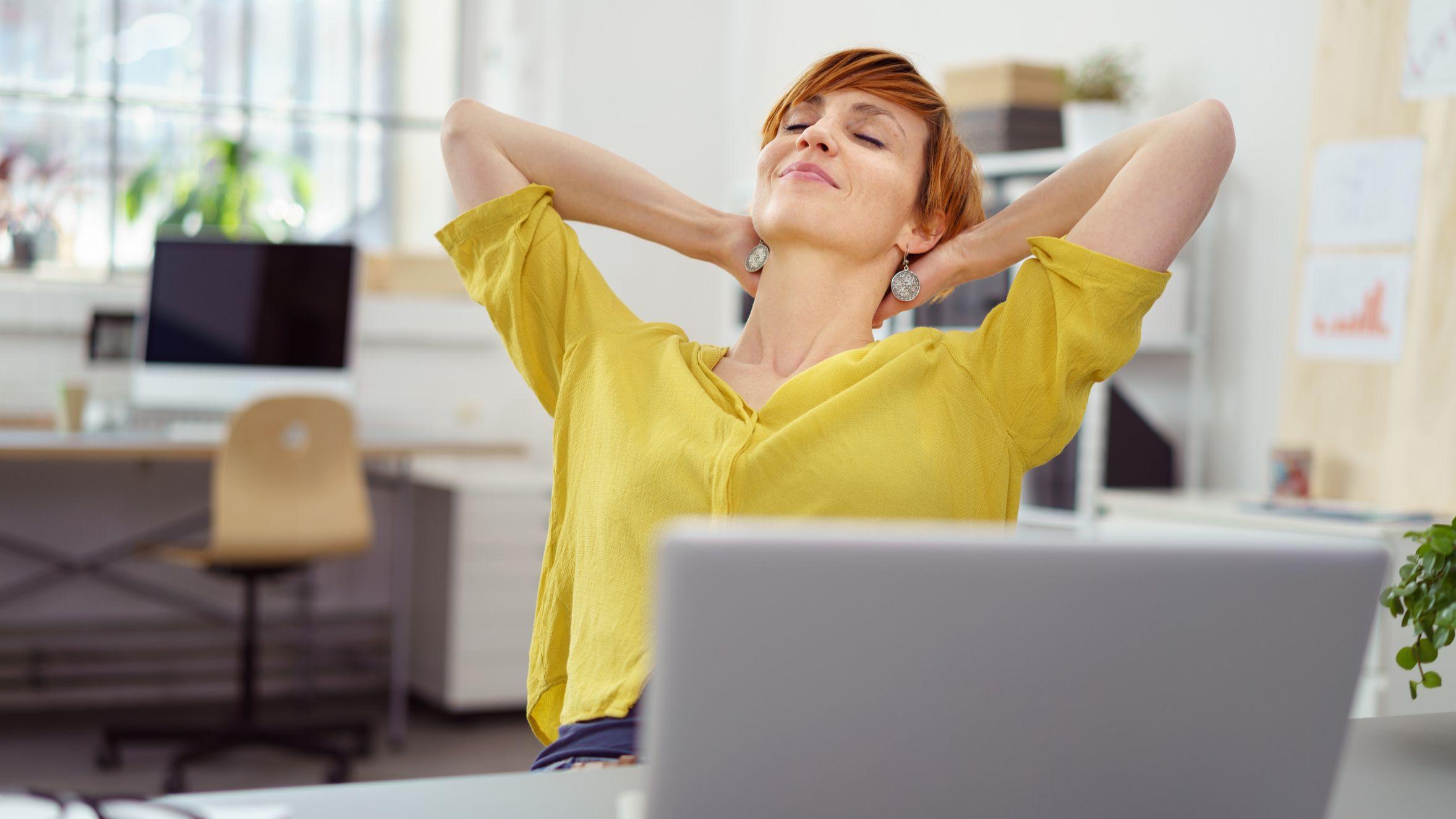 Gesund und fit im Büro