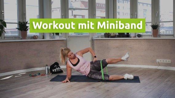 Workout mit dem Miniband