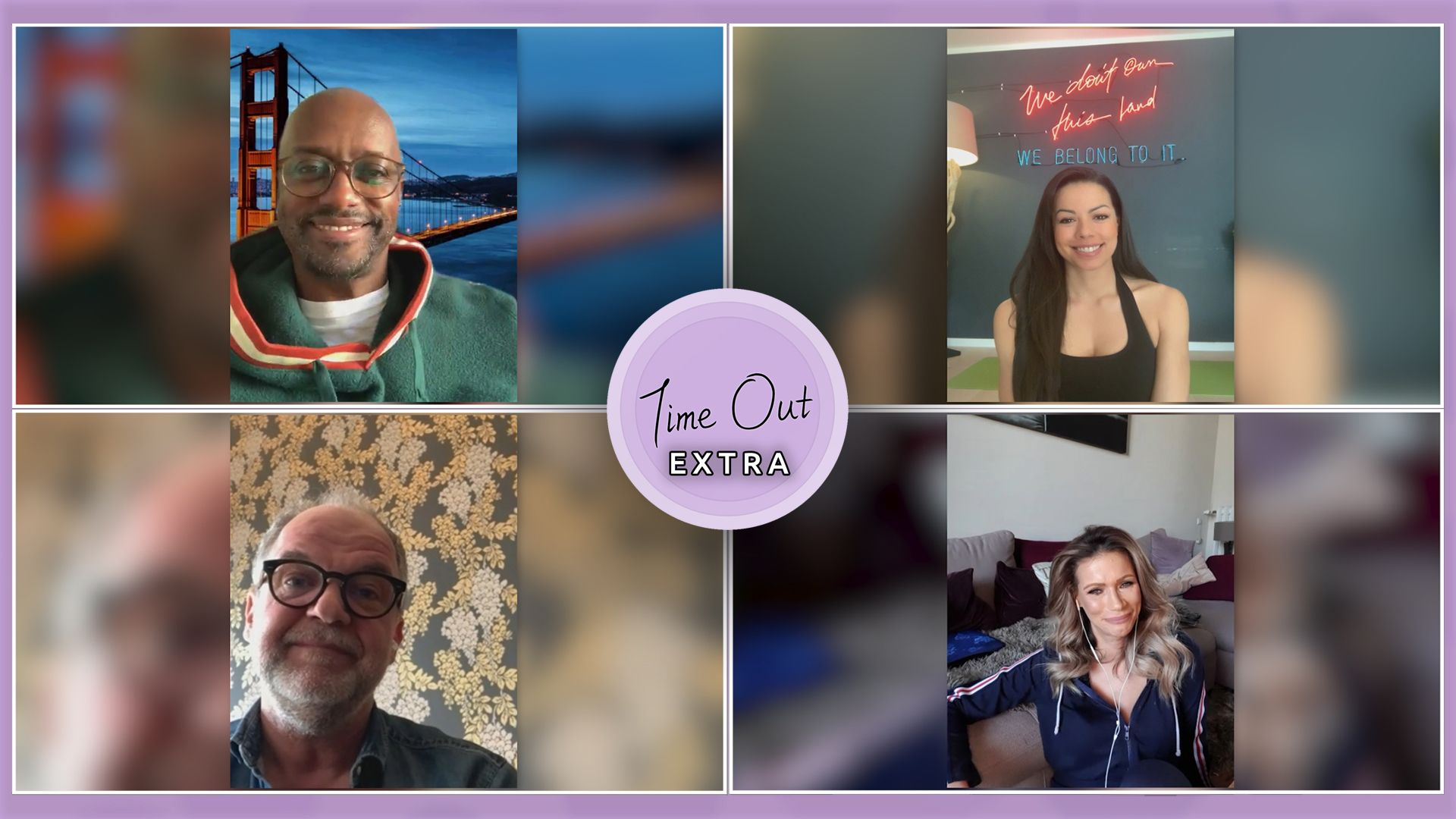 Promi-Talk in der Corona-Krise: Yared Dibaba, Marek Erhardt, Yasmina Filali und Fernanda Brandão