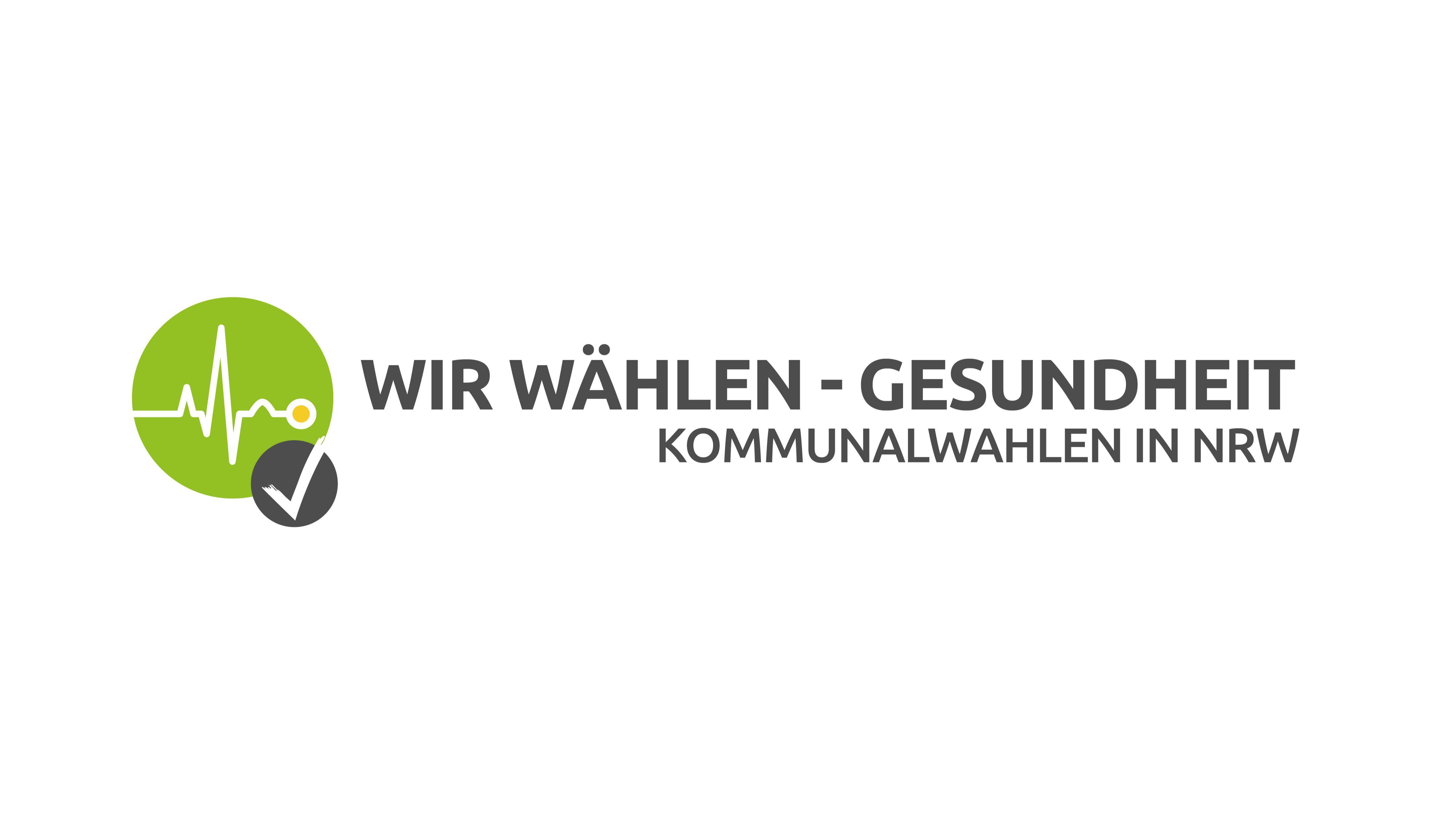 Wir wählen Gesundheit - Kommunalwahlen in NRW