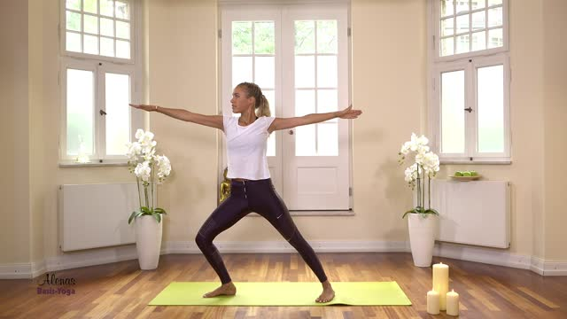 Folge 6 Mein Basis Yoga mit Alena Gerber