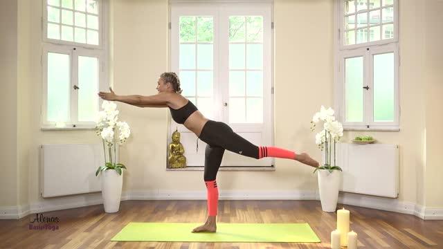 Folge 4 Mein Basis Yoga mit Alena Gerber