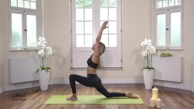 Folge 1 Mein Basis Yoga mit Alena Gerber