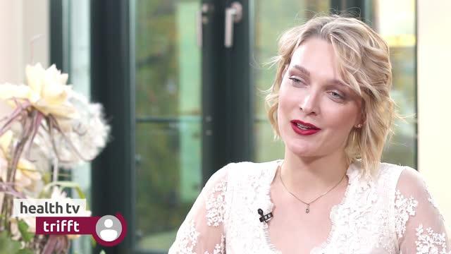 Model und Schauspielerin Victoria Jancke