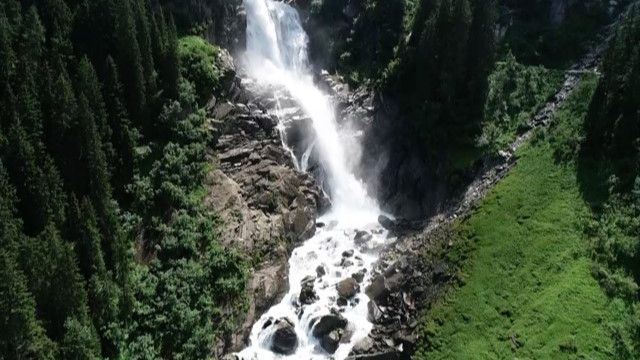 Von Allergikern geschätzt: die Kraft der Krimmler Wasserfälle