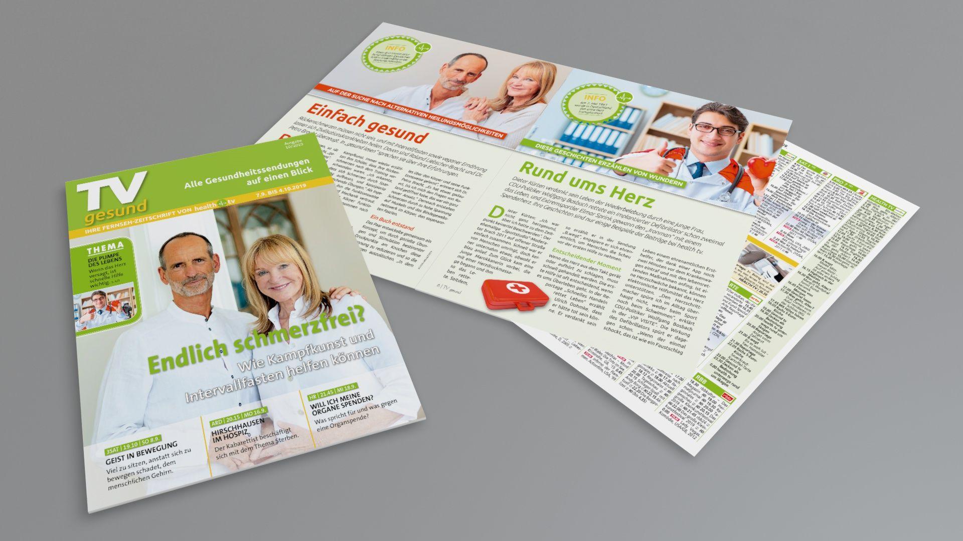 Mediathek Gesundheitssendungen