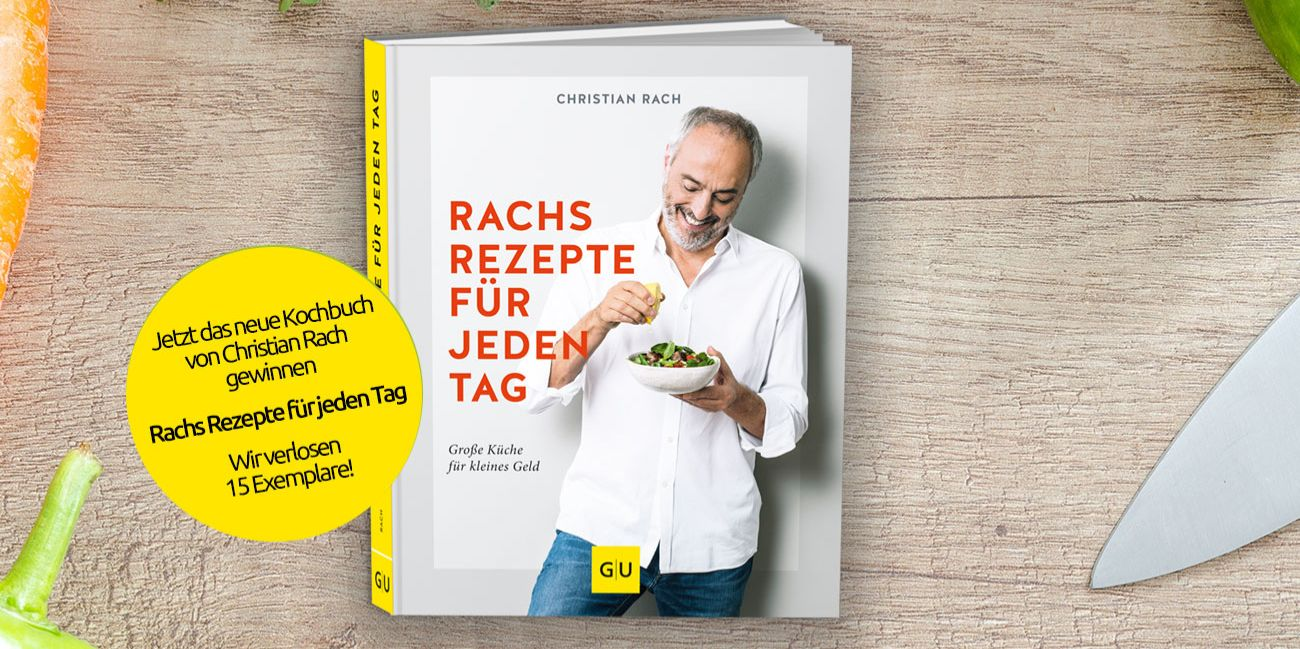 Kochbuch-Gewinnspiel: Rachs Rezepte für jeden Tag