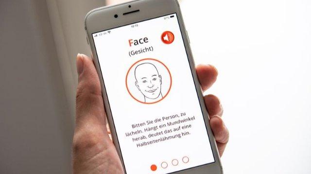 Schlaganfall mit neuer App erkennen