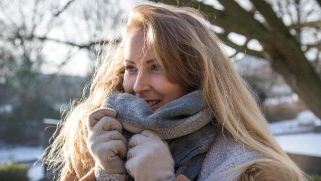 Extremer Stress: Gesichtshaut immer gut vor Kälte schützen
