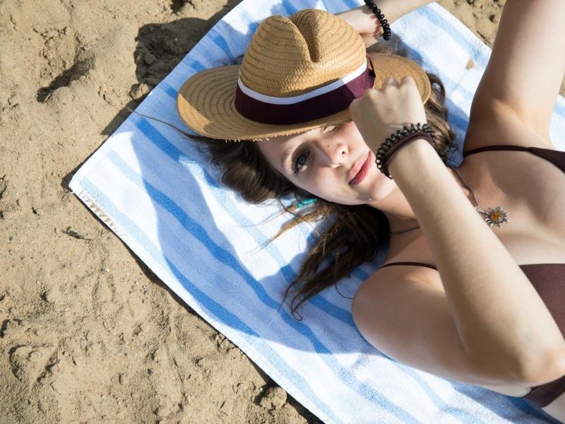 Angenehme Temperaturen im Sommer können blenden