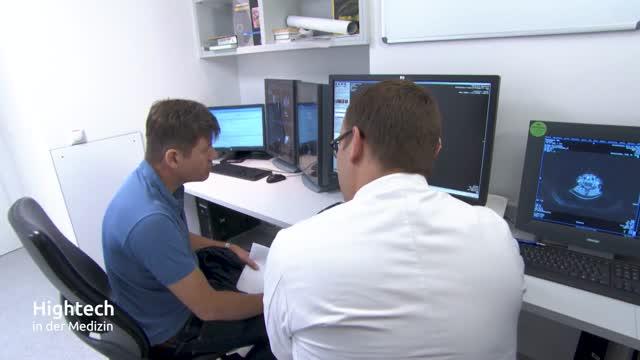 Entwicklung der Computer-Tomographie