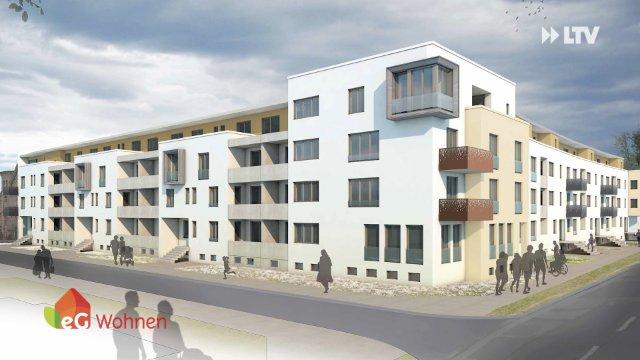 Neuestes Bauprojekt der eG Wohnen
