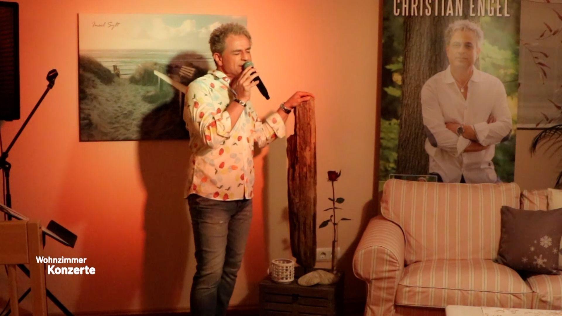 Erstes Konzert mit dem Schlagersänger Christian Engel