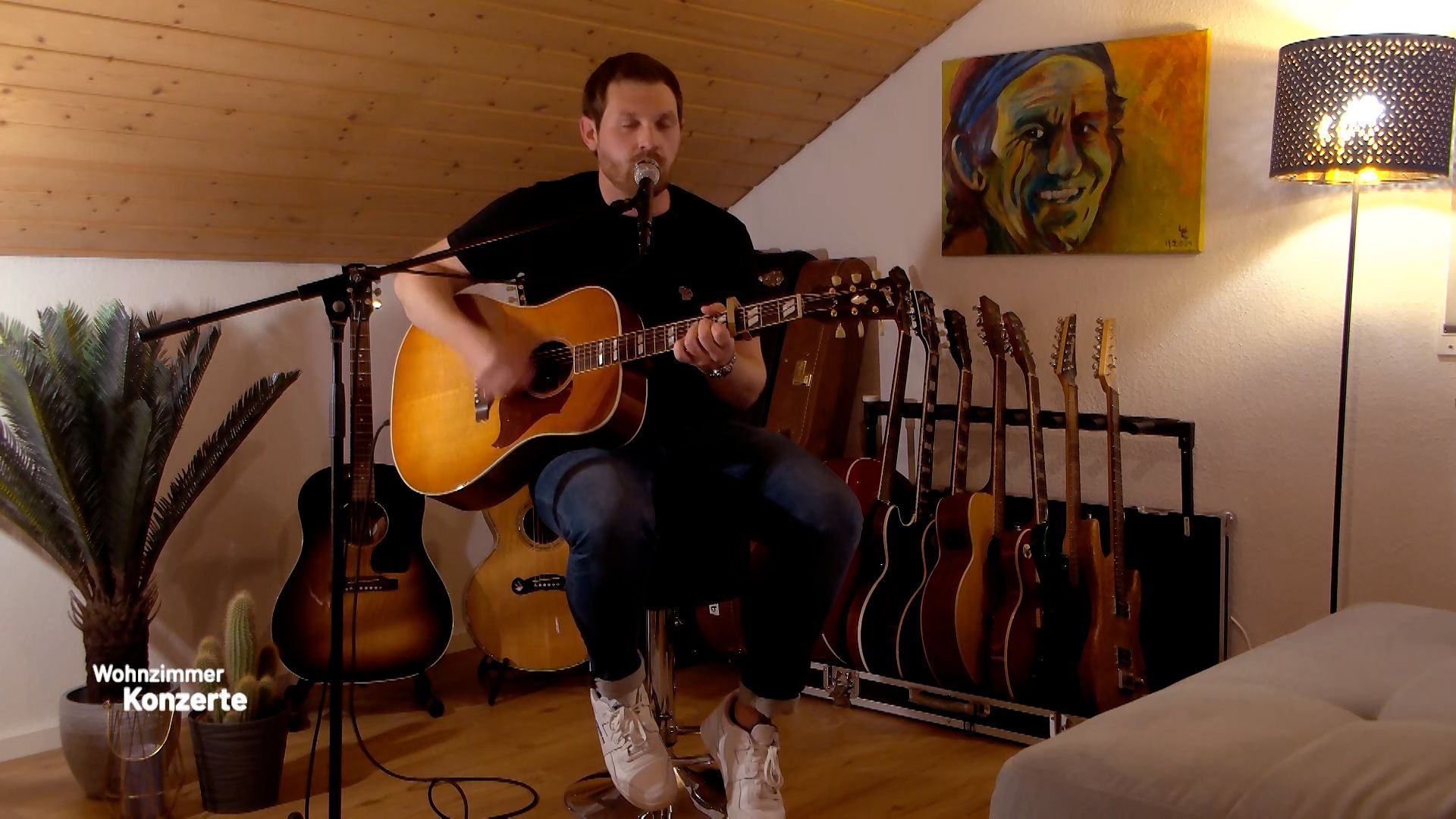 Konzert mit dem Popsänger Michael Eb aus Lauffen am Neckar