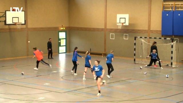 Eine erfolgreiche Saison der Neckarsulm Bundesliga-Handballrinnen