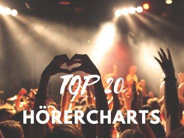 SA & SO 16 - 18 UHR: TOP 20 HÖRERCHARTS-Image