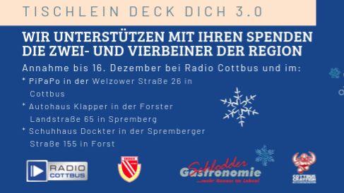 Radio Cottbus Tischlein Deck Dich 3.0-Image