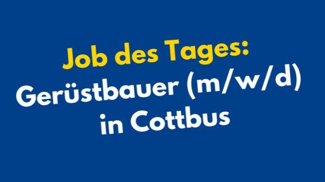 Gerüstbauer / Helfer Gerüstbau (m/w/d)-Image