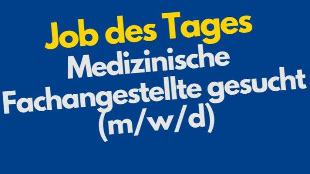 Medizinische Fachangestellte gesucht (m/w/d)-Image