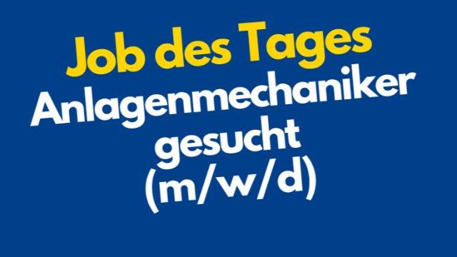 Anlagenmechaniker gesucht (m/w/d)-Image
