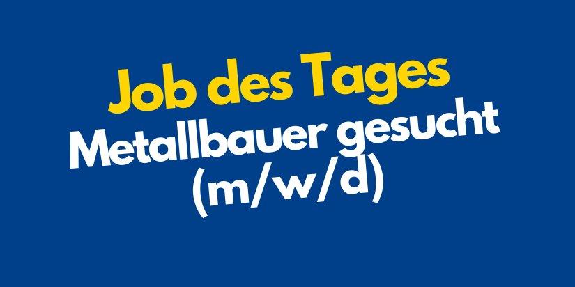 Metallbauer & Sandstrahler (m/w/d)-Image